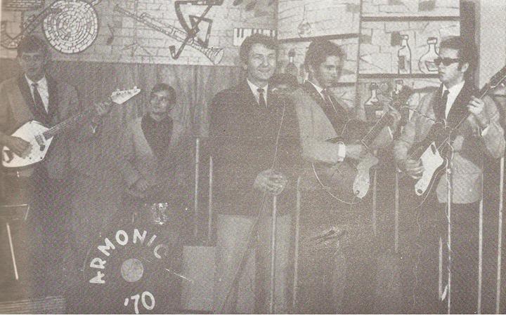 99 Dej, trupa _Armonic_ in 1970