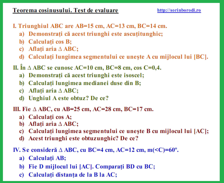Teorema_cosinusului