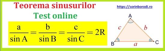 Teorema_sinusurilor